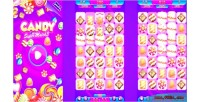 Candy match3 html5 mobile capx game