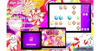 Candy super lines match3 html5 game mobile vesion admob construct capx 2