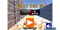 Car rally html5 webgl 3d