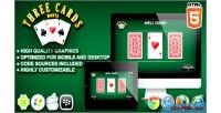 Cards 3 monte game casino html5