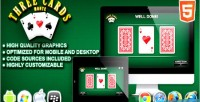 Cards 3 monte game casino html5