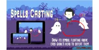 Casting spells html5 game