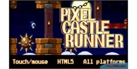 Castle pixel runner
