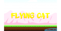 Cat flying construct template game 2