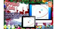 Chain christmas zuma game html5 clone