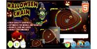 Chain halloween html5 game