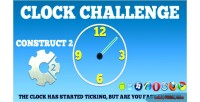 Challenege clock html5 game