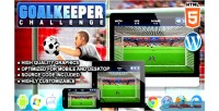 Challenge goalkeeper game sport html5