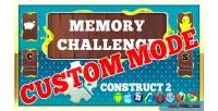 Challenge memory custom mode