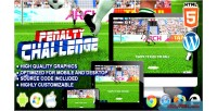 Challenge penalty game sport html5