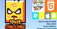 Challenge tower phaser game html5