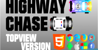 Chase highway game html5 topview