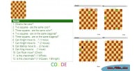 Chess blind game. html5 train