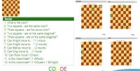 Chess blind game. html5 train