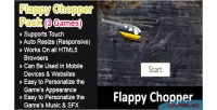 Chopper flappy pack games html5 3