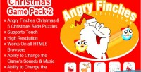Christmas games pack 2 finches angry