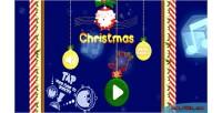 Christmas red game html5 panda