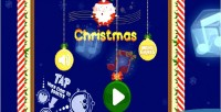 Christmas red game html5 panda