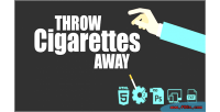 Cigarettes throw game html5 away