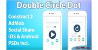 Circle double dot game mobile html5