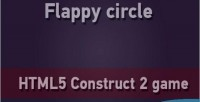 Circle flappy game mobile html5