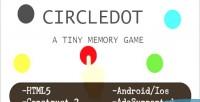 Circledot html5 game construct capx 2
