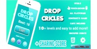 Circles drop score share game