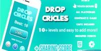 Circles drop score share game