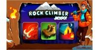 Climber rock jackpot