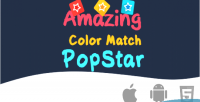 Color amazing match game html5 popstar