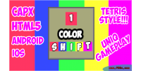 Color shift html5 mobile capx game