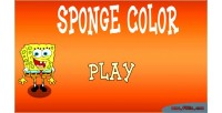 Color sponge html game kids 5