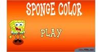 Color sponge html game kids 5