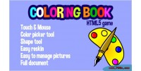 Coloring customizable book