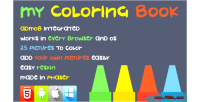 Coloring my book phaser game html5