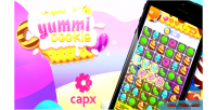 Cookie yummi match capx game 3