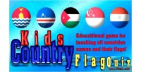 Country kids flag game html5 quiz
