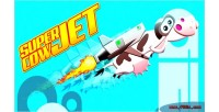 Cow super jet game casual html5