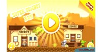 Cowboy run html5 game mobile vesion admob construct capx 2 cowboy