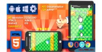 Crazy jump 2 html5 game construct ads capx 2