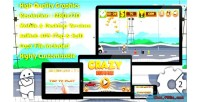 Crazy runner html5 game mobile vesion admob construct capx 2