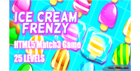 Cream ice frenzy game html5 levels 25