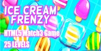 Cream ice frenzy game html5 levels 25