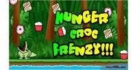 Croc hunger frenzy