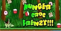 Croc hunger frenzy