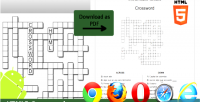 Crossword html5