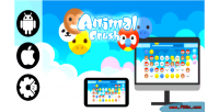 Crush html5 desktop & admob game mobile crush
