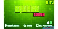 Crush square game mobile html5