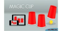 Cup magic html5 game