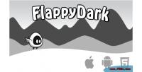 Dark flappy html5 game